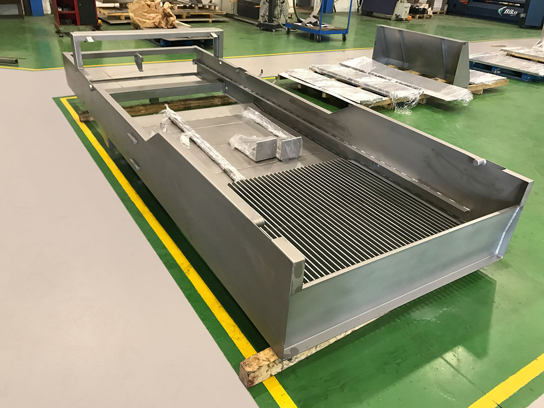 Metalaym, producte inox, estructura