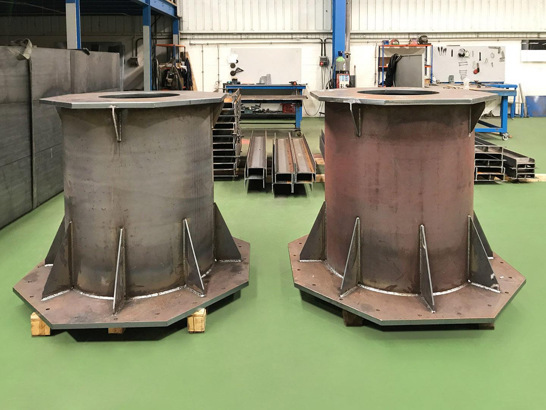 Metalaym, producte ferro, dipòsits