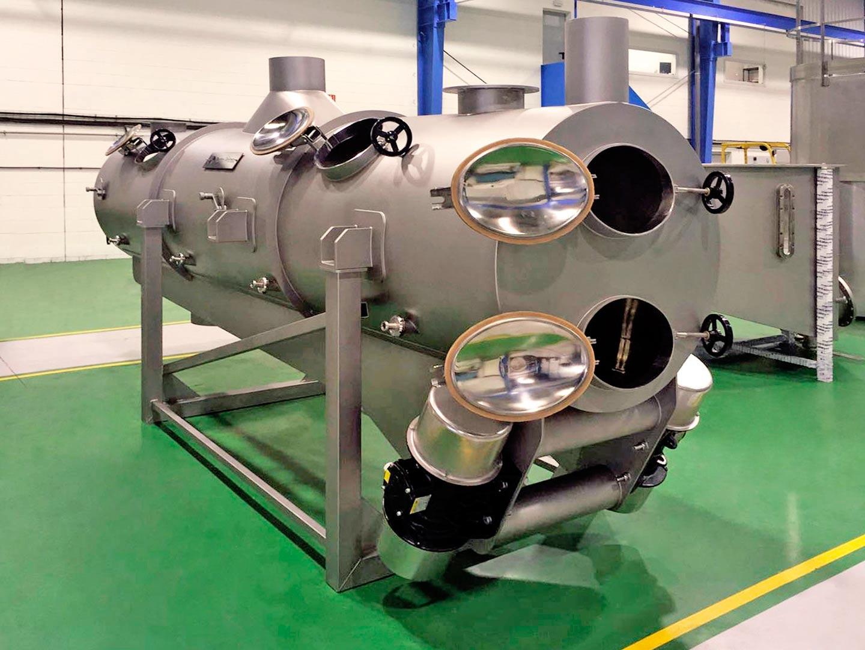 Metalaym, producte inox, complexitat, grans dimensions, màquina